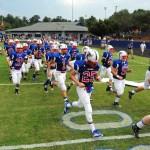 Football team wins against East Henderson